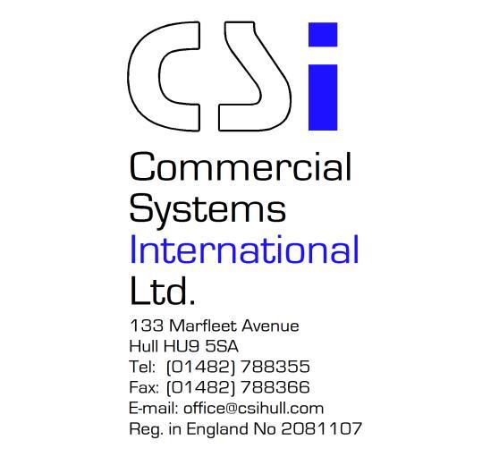Commercial Systems International Limited